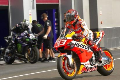 MotoGP-Testtag Jerez: Marc Marquez am Vormittag vor Rins und Rossi