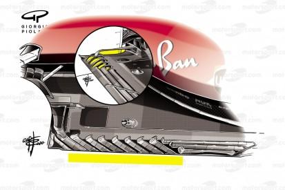 Formel-1-Technik: Ferrari wohl auf dem richtigen Weg, aber ...