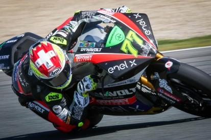 MotoE Jerez (2): Aegerter feiert Premierensieg in sturzreichem Rennen