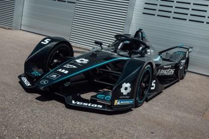 Zeichen gegen Rassismus: Auch Formel-E-Bolide von Mercedes in schwarz
