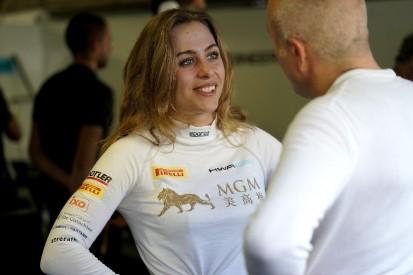 Sophia Flörsch: 2024 ist die Formel 1 das Ziel