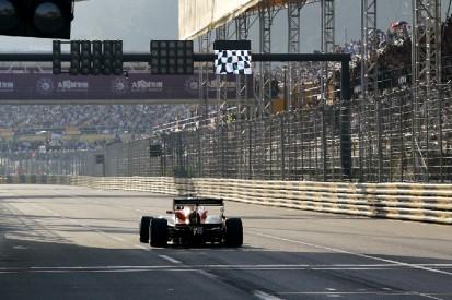 Macau-Grand-Prix 2020: Formel 4 statt Formel 3