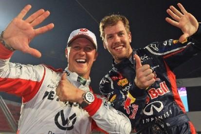 """Sebastian Vettel: Schumacher war """"besser als jeder andere"""""""