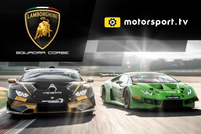 Lamborghini Squadra Corse startet eigenen Kanal auf Motorsport.tv