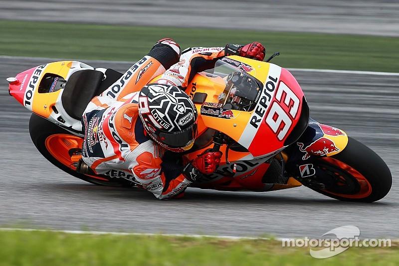 MotoGP - Marc Márquez frappe un grand coup sur les tests de Sepang