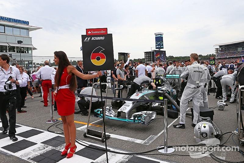 """Mercedes ofreció una """"contribución significativa"""" al GP de Alemania"""