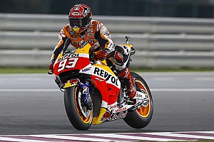 MotoGP Breaking news Marquez continues to lead MotoGP field in Qatar