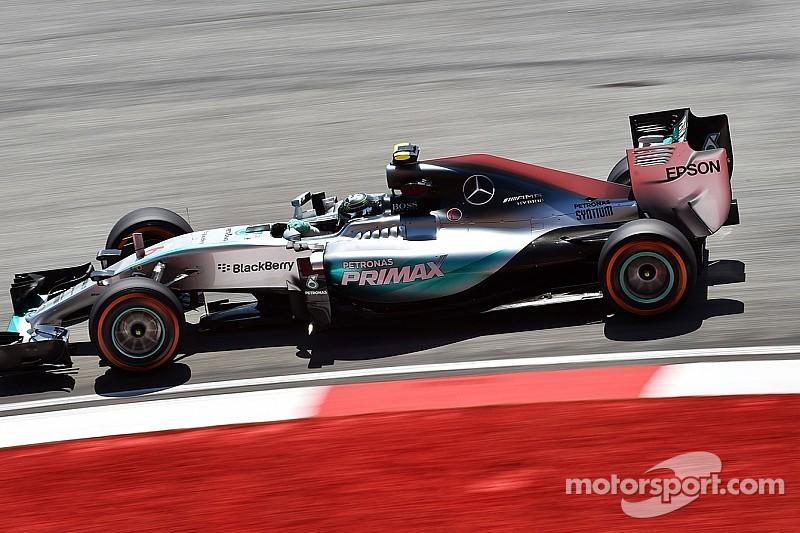 EL3 Malaisie - Mercedes par plus de 60°C en piste!