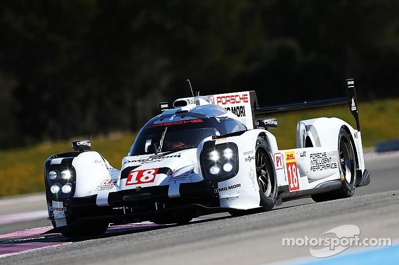 Лучшее время по итогам тестов WEC осталось за Porsche