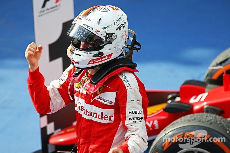 """Vettel - """"L'équipe m'a fourni une voiture fantastique !"""""""
