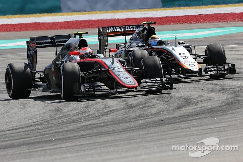Баттон доволен новым передним антикрылом McLaren