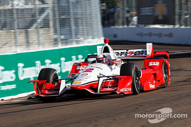 St. Pete: Team Penske's seventh 1-2 finish in IndyCar racing