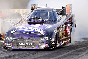 NHRA Race report Beckman, Brown, Morgan and Hines race to victories at Four-Wide Nationals at zMAX Dragway