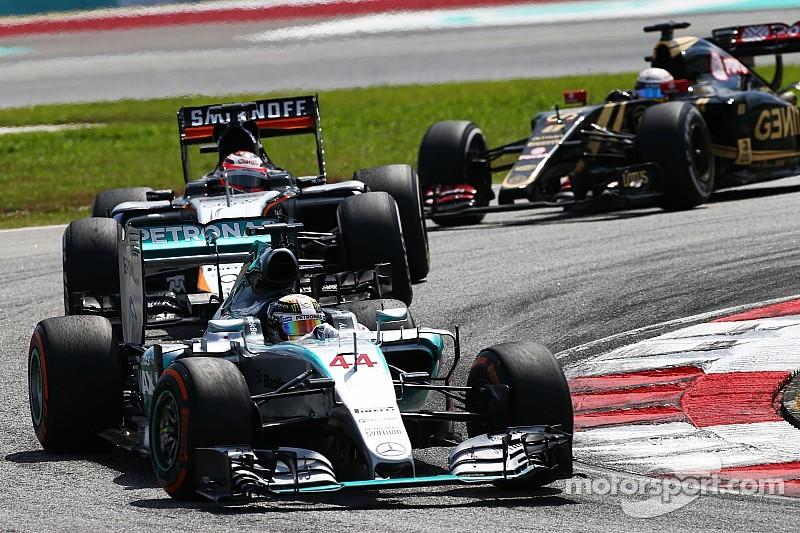 Hamilton sceptique quant à l'impact de la F1 sur l'environnement