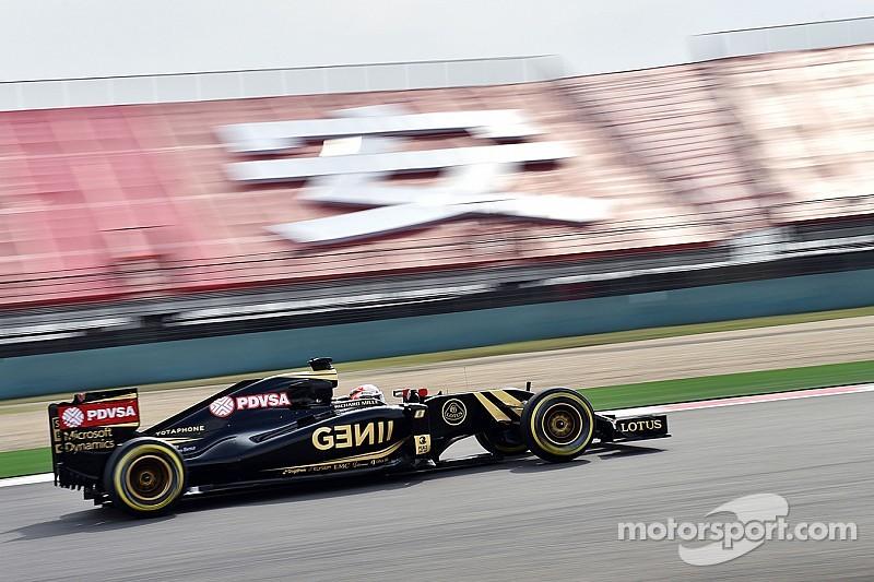Bien qualifié, Grosjean s'inquiète de l'usure des pneus en course