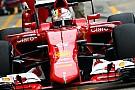 Ferrari - Un unique arrêt au stands
