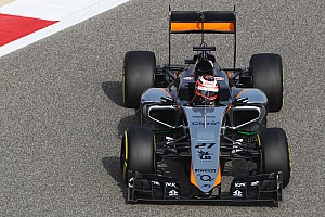 Formula 1 Qualifying report Sahara Force India shows progress on qualifying for tomorrow's Bahrain GP