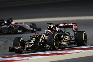 Formula 1 Race report Lotus' Grosjean drove a strong and measured Bahrain GP to finish seventh