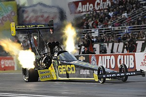 NHRA Preview Reigning rookie of the year Richie Crampton off to fast start heading to Houston