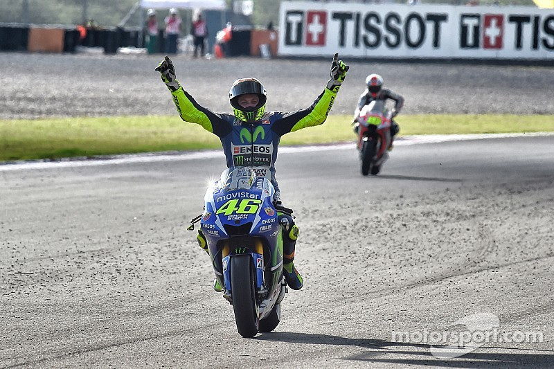 Can Rossi match Agostini's MotoGP winning record?