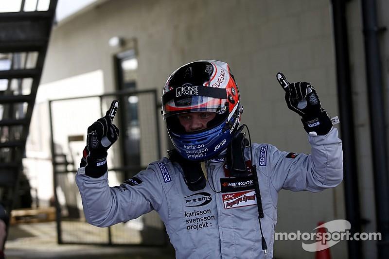 Rosenqvist secures pole for Hockenheim opener