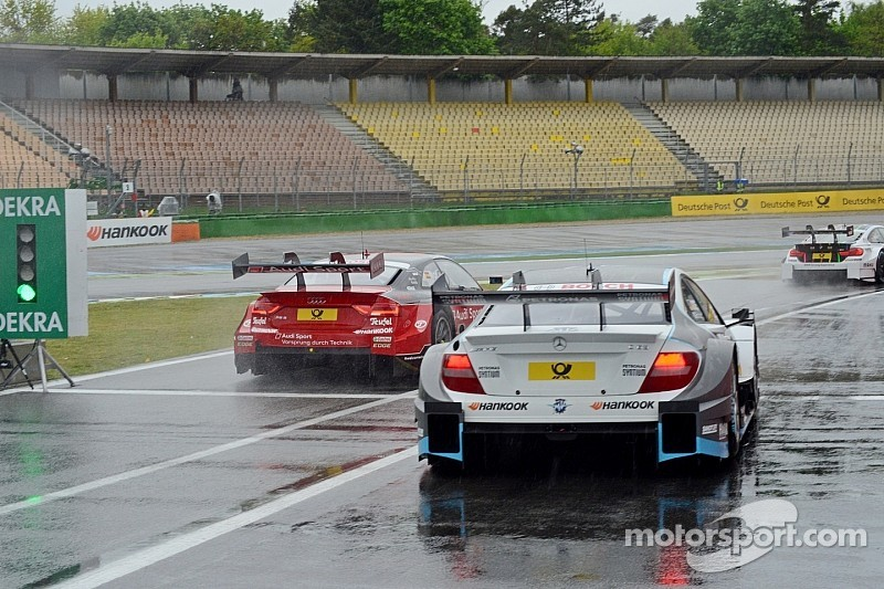 Сезон DTM стартует под аккомпанемент дождя