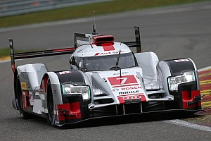 WEC Qualifying report Audi on second row in qualifying at Spa