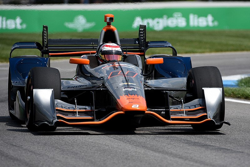 Stefano Coletti surprend son monde au warm-up à Indy
