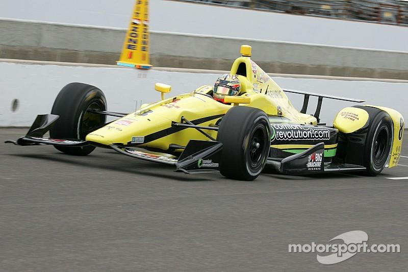 Карам возглавил протокол первой тренировки перед Indy 500