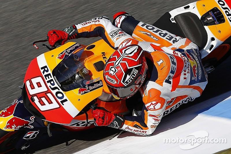 Márquez piensa en el clima de Le Mans