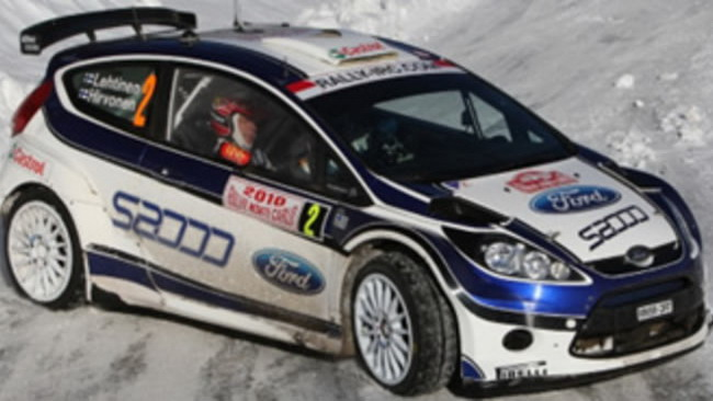 La Ford Fiesta S2000 debutta nel WRC