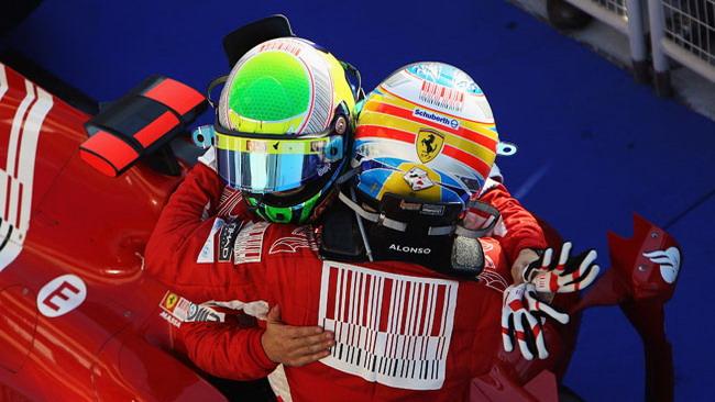Alonso e Massa mettono a tacere le polemiche