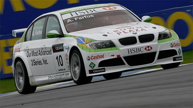 Augusto Farfus al top nelle libere di Monza