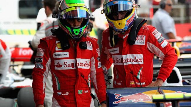 La Ferrari scommette sulla gara