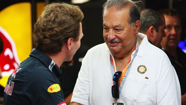 Carlos Slim tratta la Virgin Grand Prix