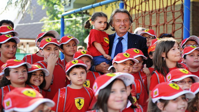 Montezemolo a Formula Estate Junior