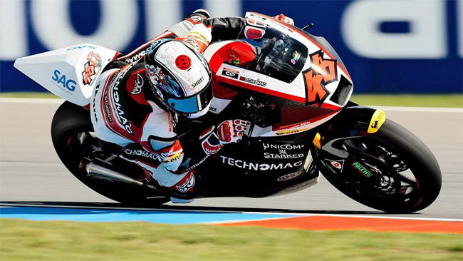 Tomizawa domina le qualifiche a Brno