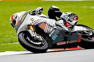 Moto2 Ultime notizie De Angelis al top prima della pioggia
