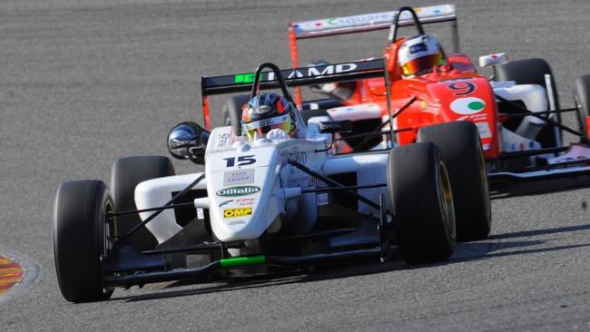 Sergio Campana guida una doppietta Lucidi Motors