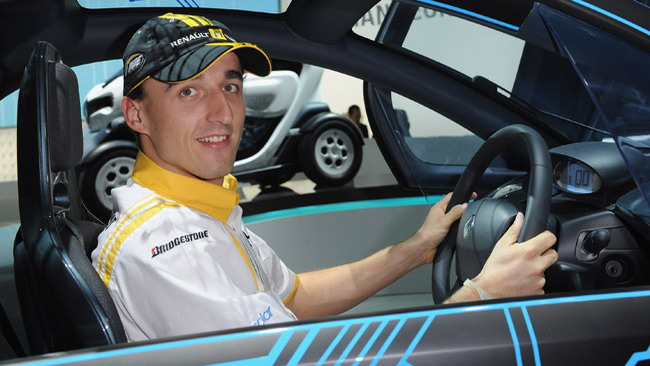 Robert Kubica la via del Rally d'Antibes