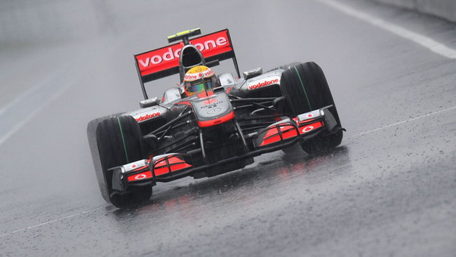 La pioggia incombe anche su Interlagos!