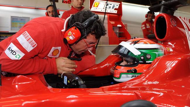 Test con la Ferrari a Vallelunga per i primi 3 classificati