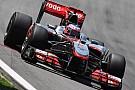 La McLaren va avanti con la livrea cromata