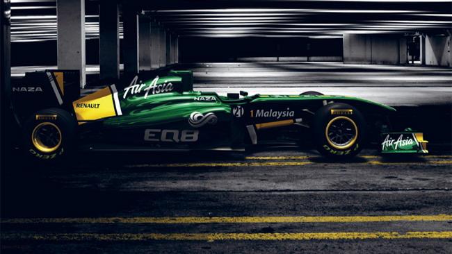 Presentata la Team Lotus T128