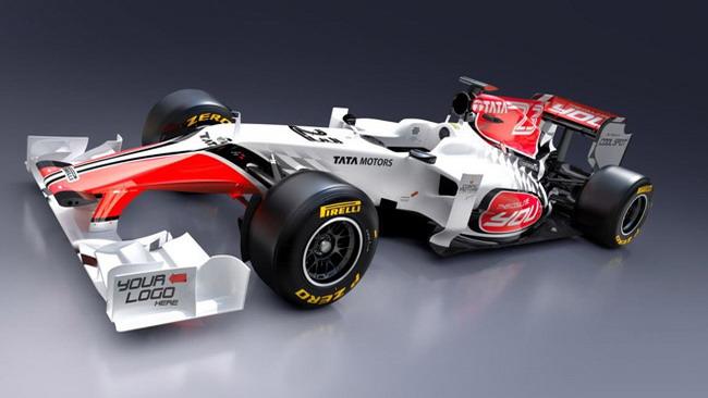 La HRT mostra le forme e la livrea della F111