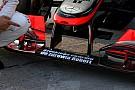 Sulla McLaren spunta un messaggio per Kubica