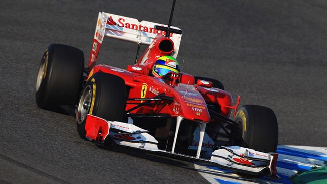 Jerez, Day 1: Massa chiude davanti a tutti