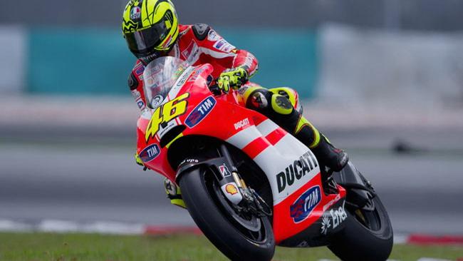 Rossi preoccupato: non riesce a guidare la Ducati!