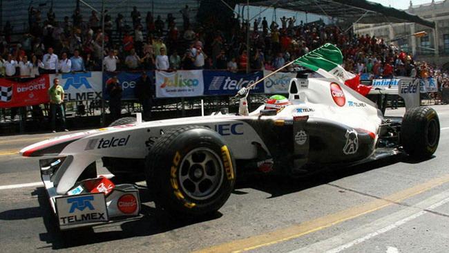 Perez risveglia l'entusiasmo dei messicani per la F.1