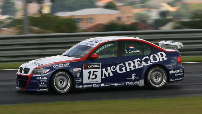 Coronel e la BMW al top nei test di Curitiba